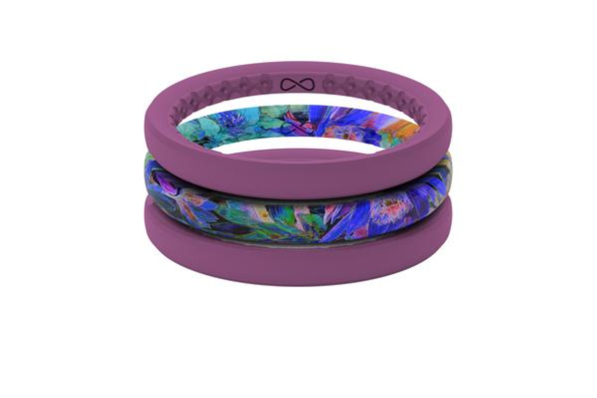 Women's Stackable Silicone Wedding Ring | Air - Twilight
