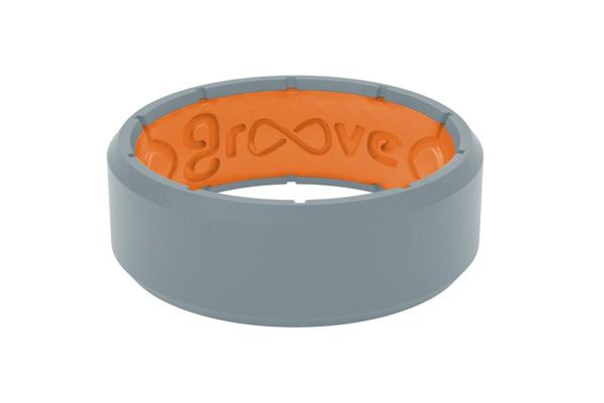Groove Edge   Storm Grey   Orange