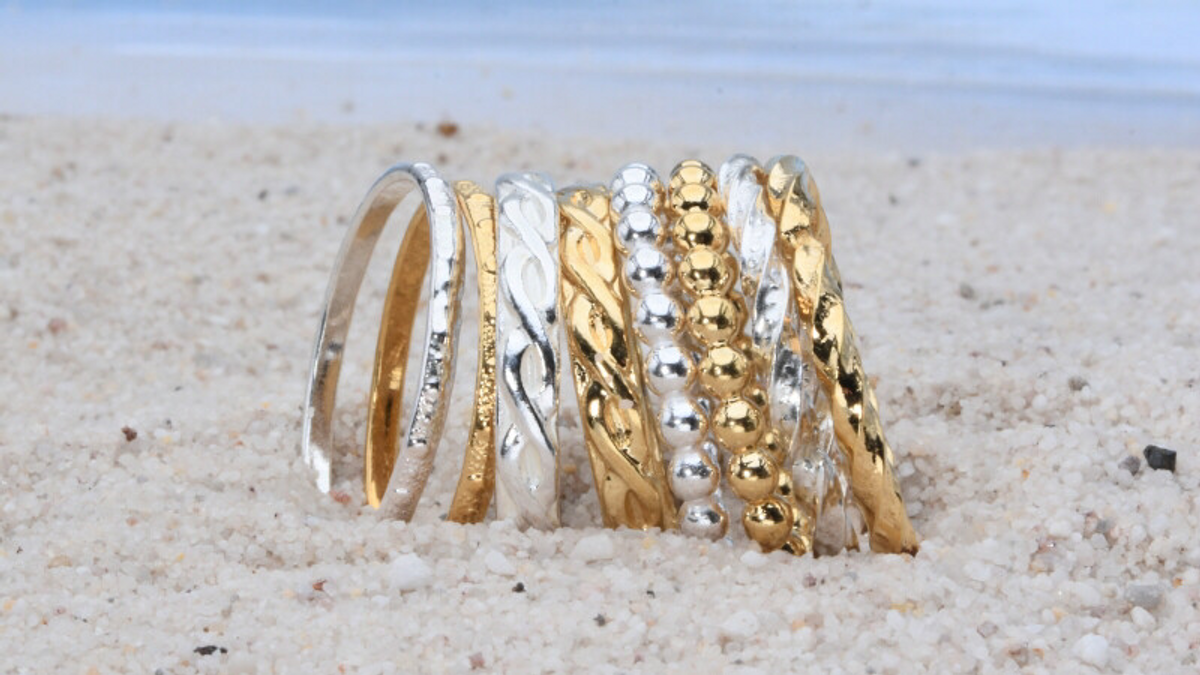 Earthgrace Stackable Rings