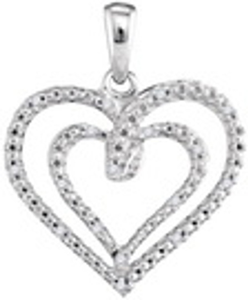 0.05CTW DIAMOND FASHION PENDANT