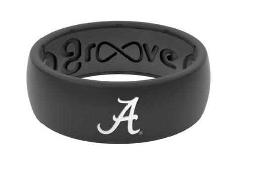 Alabama Silicone Ring - Black
