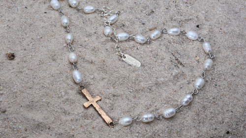 Earth Grace Faith Pearl Necklace Collection