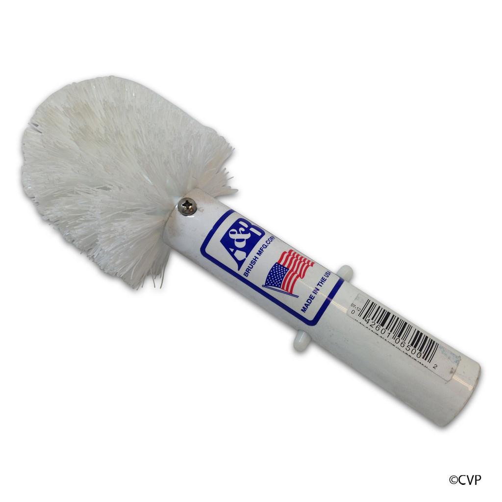 A&B Brush | BRUSH CORNER WHITE BRISTLE | 6500