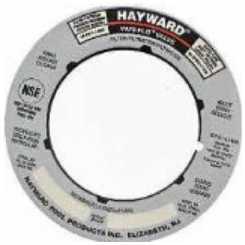 "Hayward | LABEL PLATE 1-1/2"" SP0710 