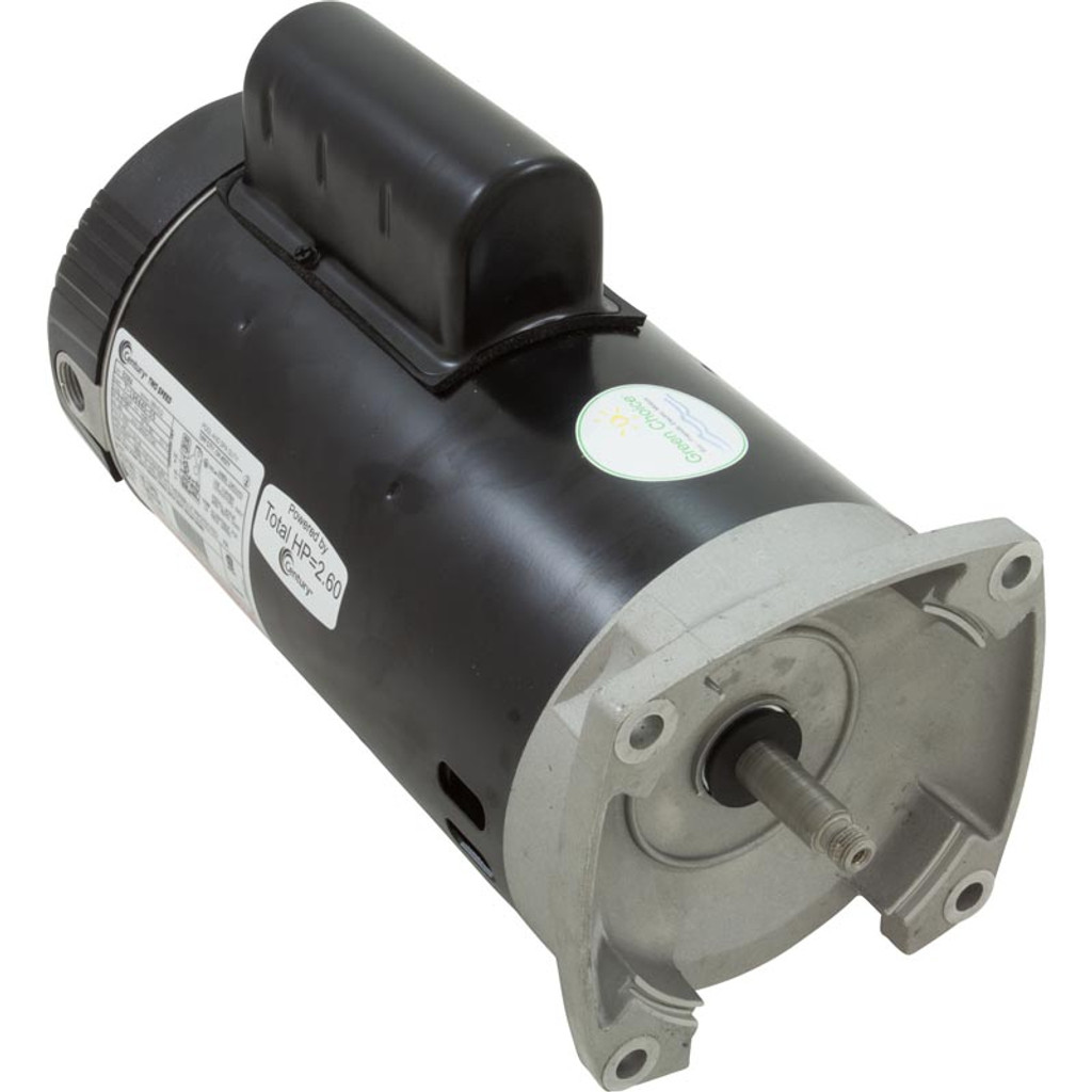 A.O. SMITH MOTORS | THREADED FR 2HP 2SP EE 230V | SQUARE FLANGE | MOTOR | B2984 | MOTOR
