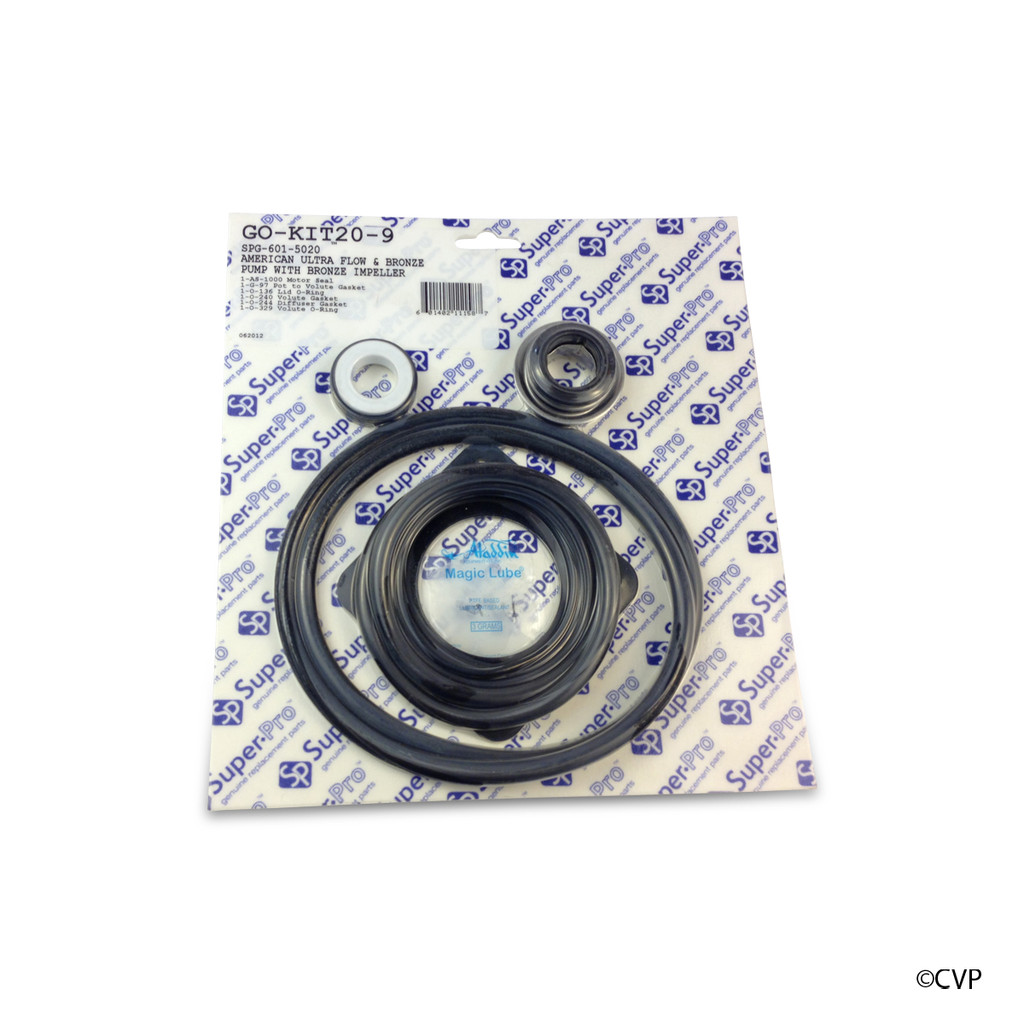 Aladdin Pentair American Ultra Flow Pump Complete Seal