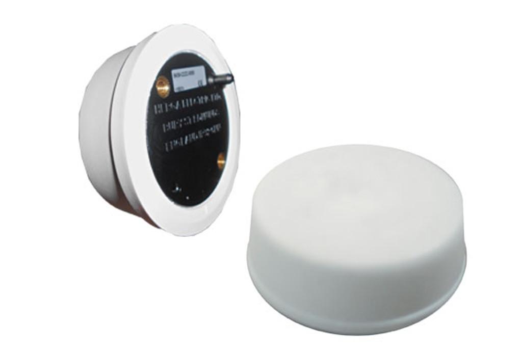 Herga 6439-CZZZ Flat Mount Mushroom Air Button