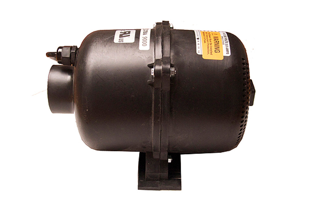 Air Supply of the Future   BLOWER   1.0HP, 120V, WITH 4PIN AMP PLUG, ULTRA 9000   3910120F