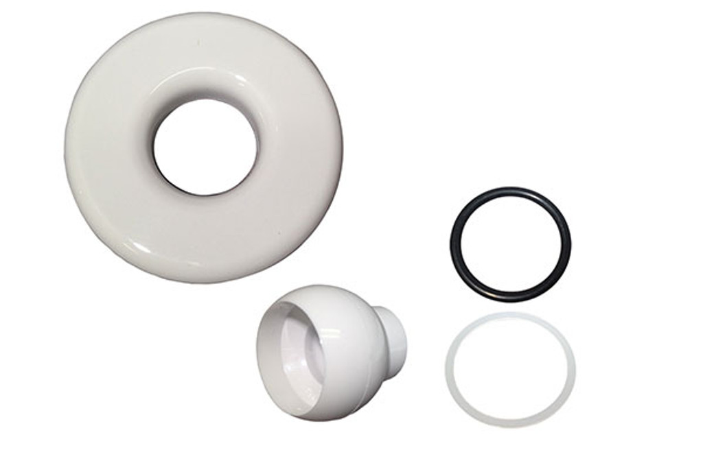 Balboa 10-3955WHT Slimline Spa Jet Escutcheon Kit White