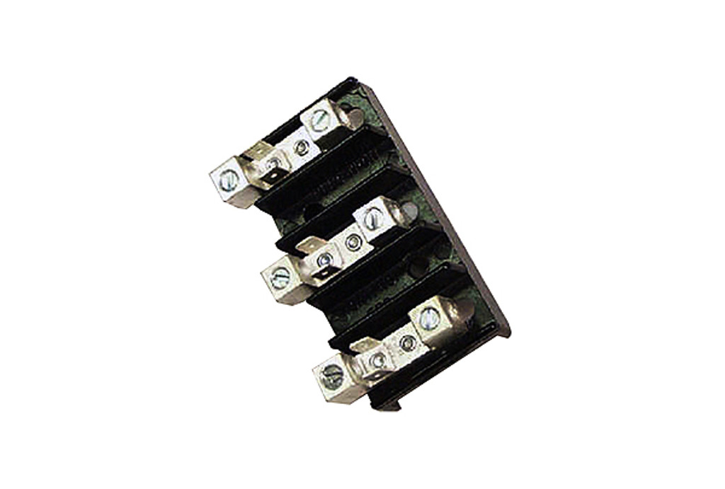 Allied Innovations   TERMINAL BLOCK   3 POSITION 14-4 AWG 50A 110/220V   ERB44K