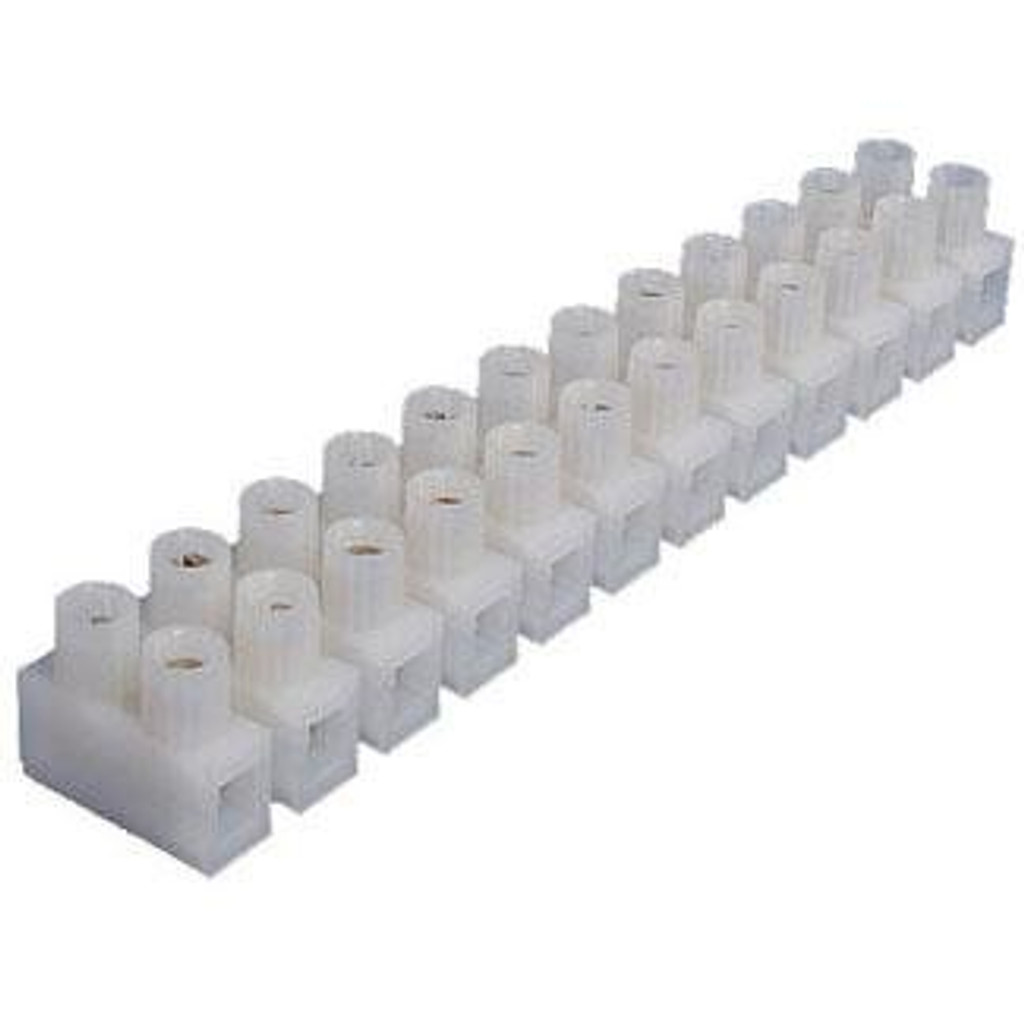 Allied Innovations | TERMINAL STRIP | 12 POSITION E-10 18-12AWG 26A | 324-12