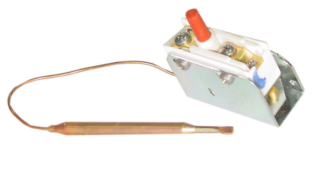 "Invensys Appliance Controls   HI LIMIT    SPST 1/4"" X 3.13"" BULB 6"" CAPILLARY   275-3254-00"