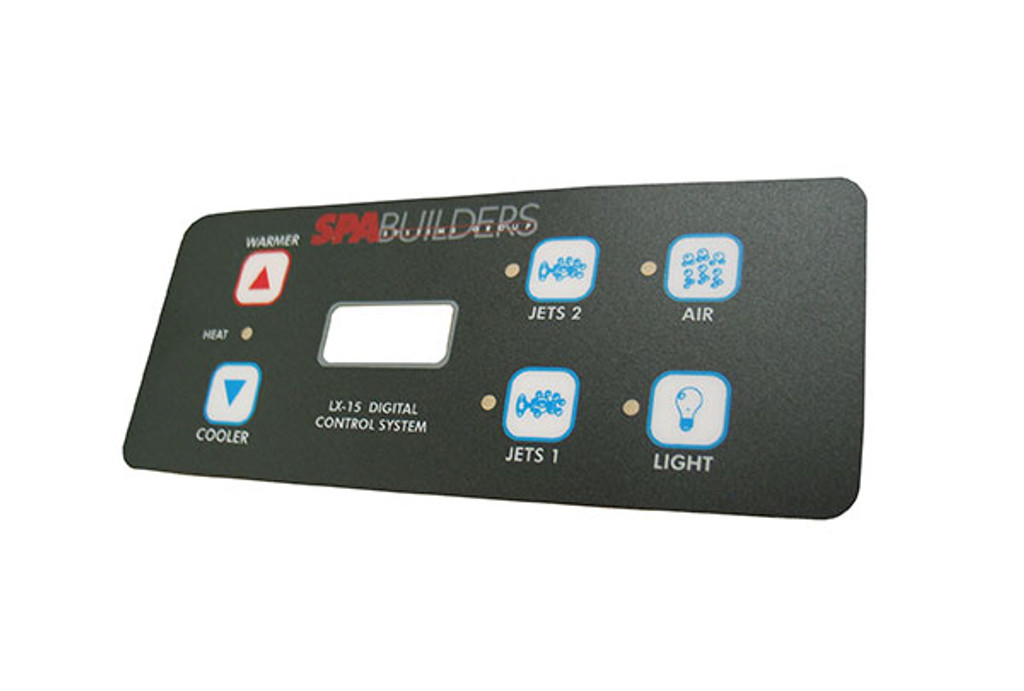 Allied Innovations   OVERLAY   LX-15 - 6-BUTTON   9916-101131