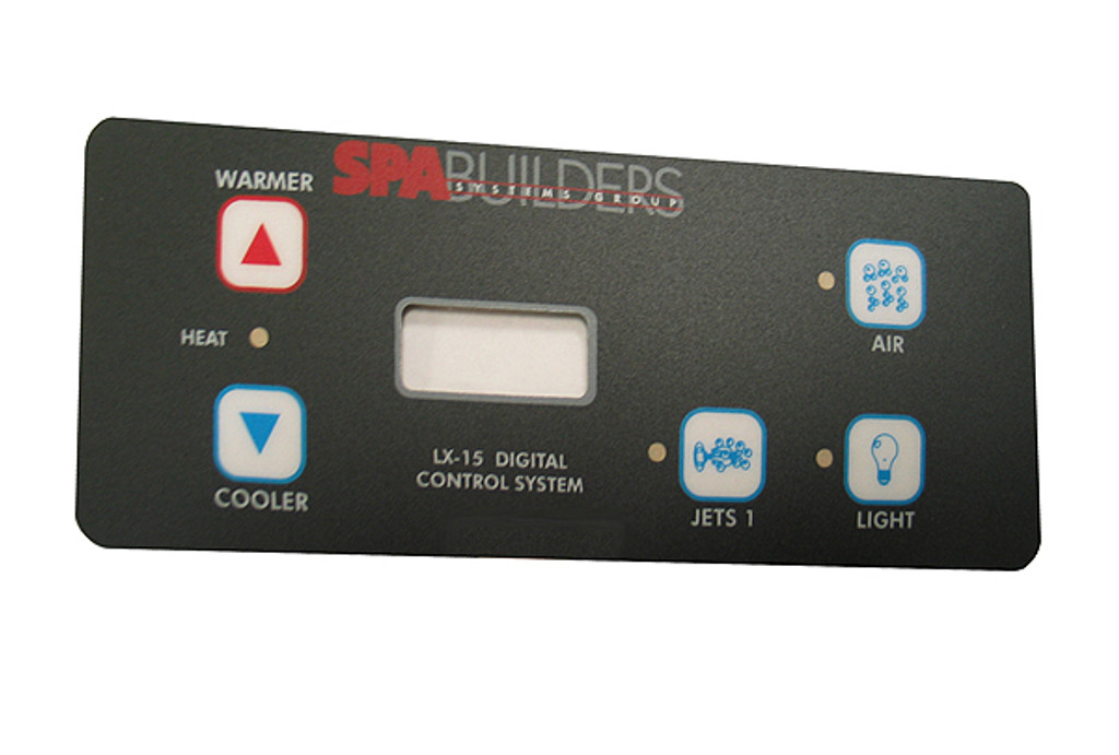 Allied Innovations   OVERLAY   LX-15 - 5-BUTTON   3-05-0195