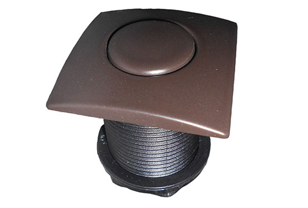Allied Innovations | AIR BUTTON | #20 DESIGNER TOUCH, OIL RUBBED BRONZE, SQUARE | 951590-995