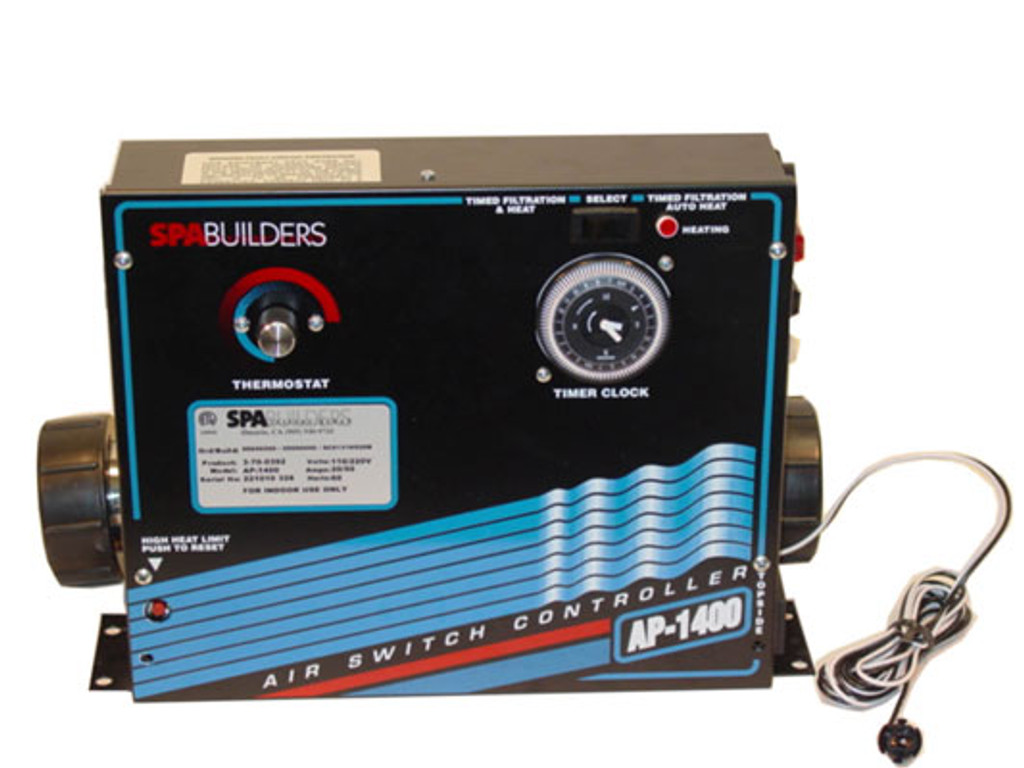 Allied Innovations | CONTROL | AP-1400 120/240V WITH HEATER 5.5KW & TIME CLOCK | 3-70-0392