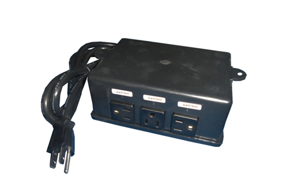 Allied Innovations | CONTROL | ES-4P 120V 4-OUTLET WITHOUT BUTTON OR TUBING | 923200-003