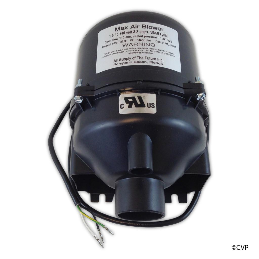 Air Supply of the Future | Blower, Max Air 1.5HP 220V 3.5A | 2513220