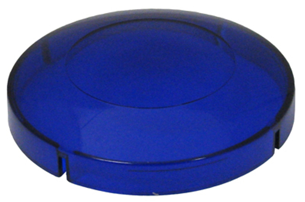 "Allied Innovations | BLUE LENS FOR 2 1/2"" HOLE SIZE 3 3/8"" LENS DIAMETER 
