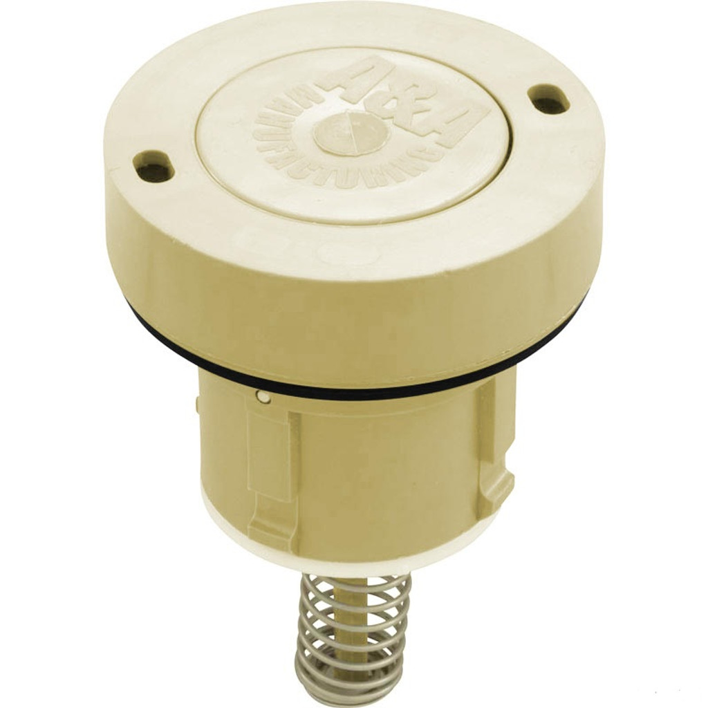 A & A MANUFACTURING CLEANING HEADS | STYLE I, LOW FLOW INTERNAL, TAN | 521797