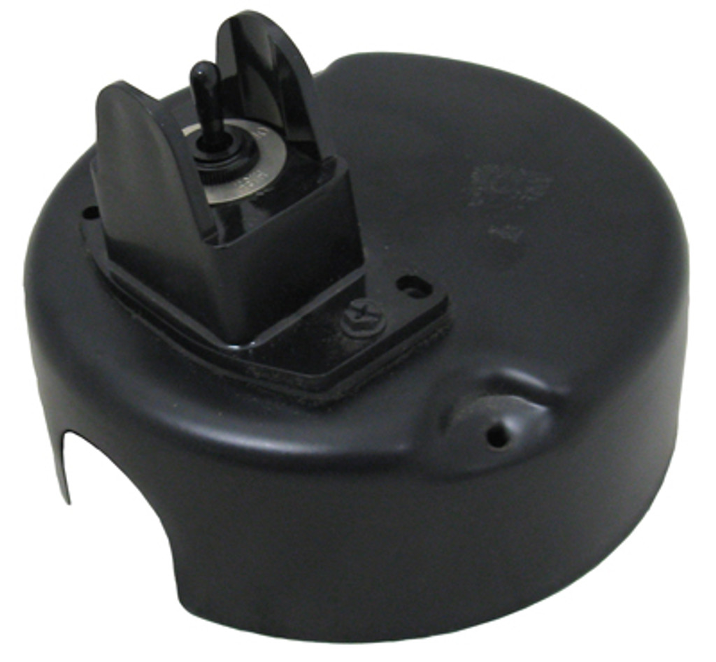 A.O. SMITH/MAGNETEK | METAL END COVER WITH TOGGLE SWITCH FOR 2 SPEED MOTOR LO-OFF-HIGH POSITIONS FOR A.O. SMITH MOTORS ONLY | 1011431-001