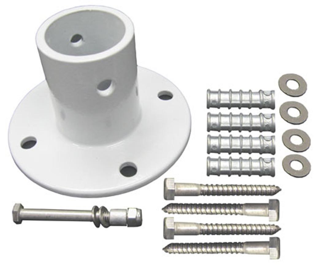 Perma-Cast PF-3119-A Aluminum Slide Flange w/ 4 Anchors