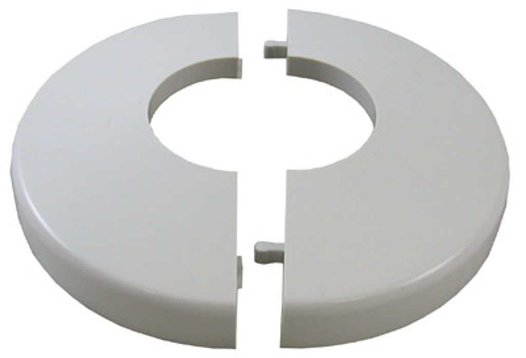 CUSTOM MOLDED PRODUCTS | CLIP ON, WHITE PLASTIC, 1.9"