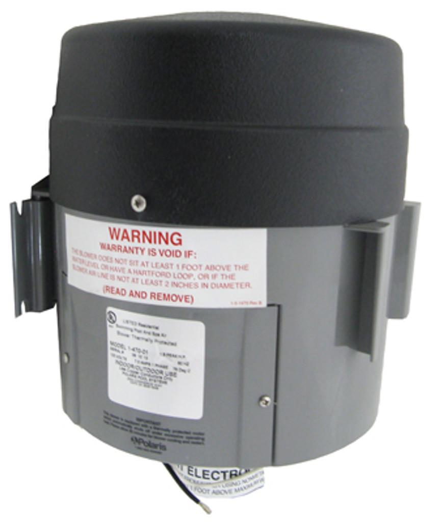 Polaris 1-470-01 QT Spa Blower 1.5 HP 120V Quiet