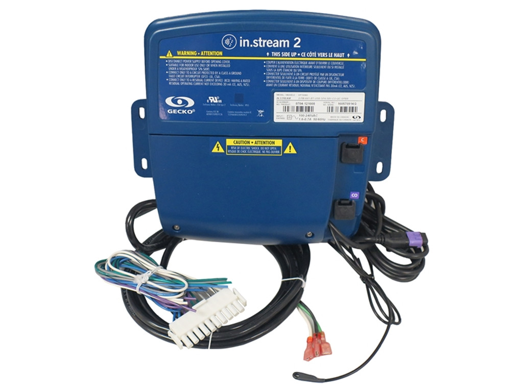 AUDIO: IN.STREAM2 AUDIO SYSTEM, POWER SUPPLY WITH QUICK CONNECT 0704-121008