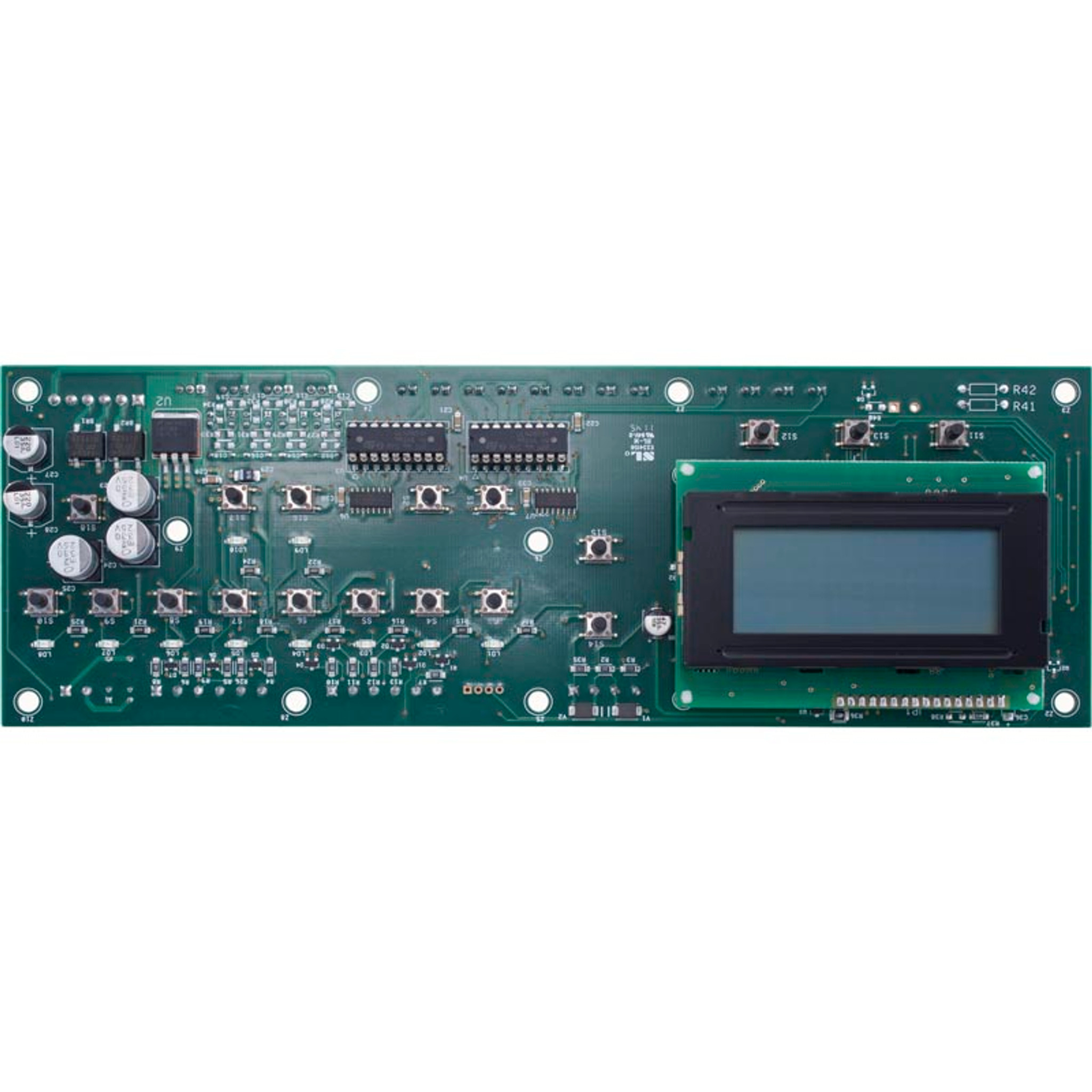 Pentair   EASYTOUCH Control Systems   UOC MOTHERBOARD WITH 4 AUX (Single  Body)   520712