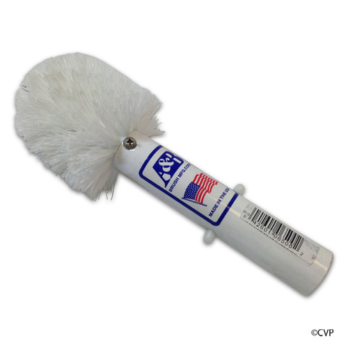 A&B Brush | BRUSH CORNER WHITE BRISTLE | 6500