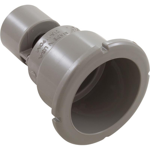 WATERWAYS | GRAY POLY STORM THREADED WALL FITTING | 215-1197