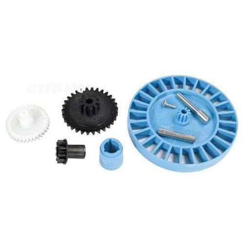 Hayward | AquaBug | Diver Dave | Wanda the Whale | Medium Turbine/Spindle Gear Kit, Vinyl (medium turbine, drive gear, bushing, spindle gear, screw, medium turbine axle, intermediate gear,  intermediate gear axle) | AXV079VP