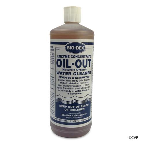 BIO-DEX CHEMICALS   1 QUART OIL OUT   OO132