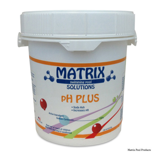 MATRIX | 6.5# MATRIX PH PLUS | 6.5 LB POUND SODA ASH | MTX4009