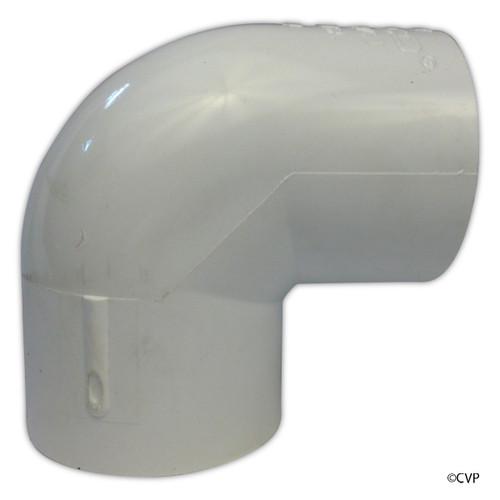 """PVC LASCO   2-1/2"""" SLIP 90^ ELL   406-025"""