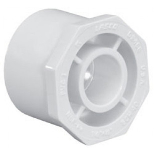 "PVC LASCO | 2-1/2""x2"" RED BUSHING SPxS 