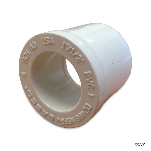 "PVC LASCO | 1""x1/2"" RED BUSHING SPxS | 437-130"