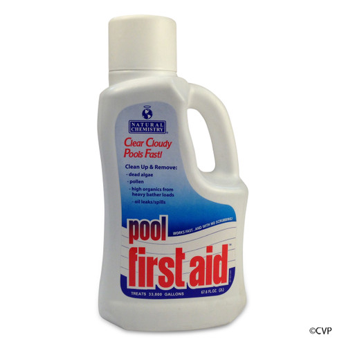 NATURAL CHEMISTRY | 2 LITER POOL FIRST AID | 03122
