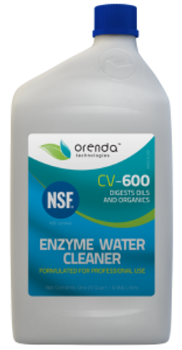 ORENDA | 1 QUART ENZYME CLEANER  | CV600