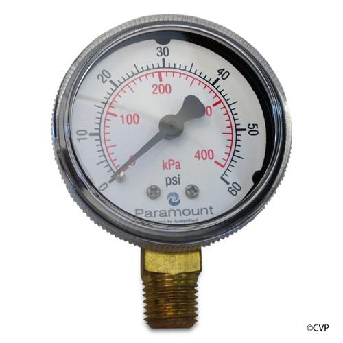 PARAMOUNT | PRESSURE GAUGE FOR WATER VALVE | 005-302-3590-00