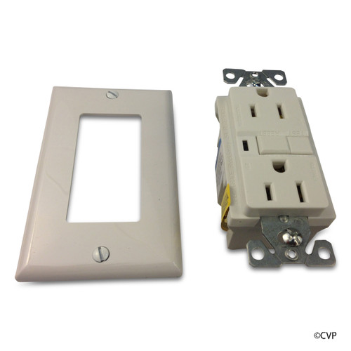 ELETRICAL | 20 AMP GFCI RECEPTACLE | TAMPER RESISTANT WHITE | GF20A-TR