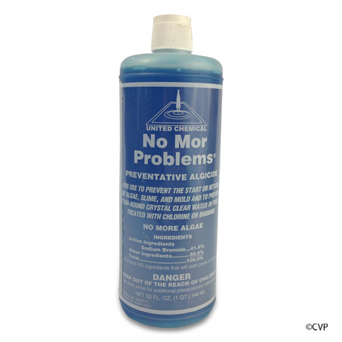 UNITED CHEMICAL | 32 OZ NO MOR PROBLEMS BOTTLE | POOL NO MORE PROBLEMS| NMP-C12