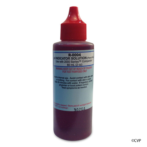 Taylor | Reagents | pH Indicator Solution (for 2000 Series), Phenol Red, 2 oz, Dropper Bottle 12-pack | R-0004-C-12