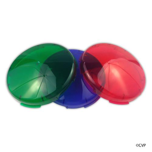 PENTAIR  | AMERLITE LENS KIT KWIK CHANGE 4 PACK |Plastic Snap-on Color Lens Cover Kit | 78900100