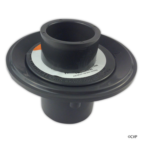PENTAIR | FLOOR INLET ASSEMBLY GRAY | Floor Inlet Fitting with 1.5 -Inch Slip Brushing, 2-Inch Slip, Gray | 08417-0100