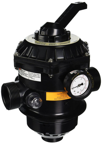 Pentair 262506 Sand Dollar 6-Way Top-Mount Multiport Valve