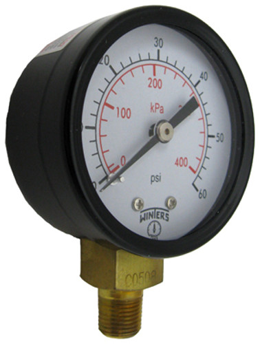 "JANDY | RAY-VAC PRESSURE GAUGE 1/8"" 0-60 PSI 