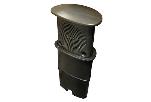 "Waterway | SPEAKER SYSTEM | 5-1/4"" CO-AXIAL DARK SILVER GLITTER 