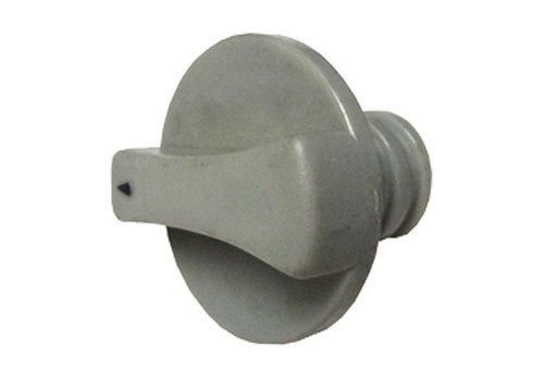 Sundance Spas | VENTURI AIR CONTROL PART: KNOB LIGHT, GRAY | 6000-014